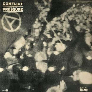 Conflict ‎-  Increase The Pressure (LP) (VG-/G++)